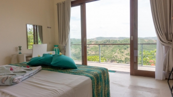 A room with a view of South Lombok hills