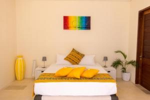 Bedroom in the back at Villa Atas Pelangi