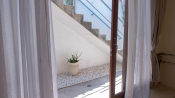 Entrance and view from third bedroom