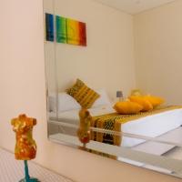 Artsy mirror shot of bedroom 3