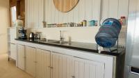 Kitchen sink with appliances